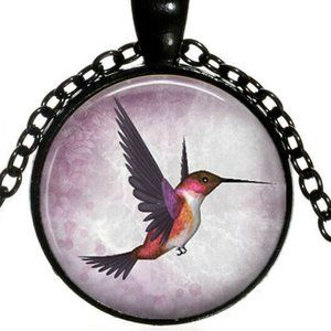 Necklace- NEW-  Hummingbird